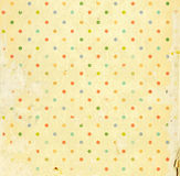 Grunge background. With dots pattern and paper texture stock photos