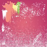 Grunge background. Abstract artistic Background forming by blots. EPS10 royalty free illustration
