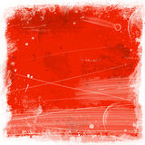 Grunge background. Red grunge background royalty free illustration