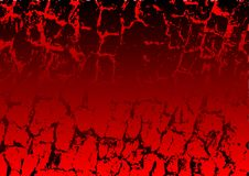 Grunge background. Abstract vector of a red and black grunge background Stock Images