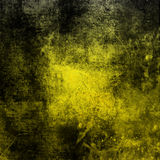 Grunge background. With yellow black color Royalty Free Stock Photos