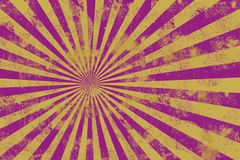 Grunge background. Yellow purple grunge rays backgroun Stock Images