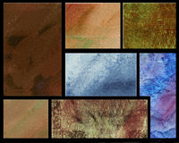 Grunge background. Multi window grunge background with texture vector illustration