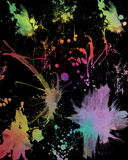 Grunge background. Multi colored grunge background with texture vector illustration