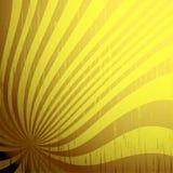 Grunge Background. Sunburst lines with grunge elements Stock Photography