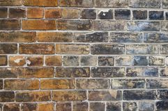 Grunge background. A rusty old brick wall. Grunge abstract background stock images