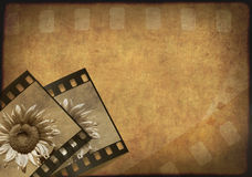 Grunge background. Symbolical the image of a film Stock Photography