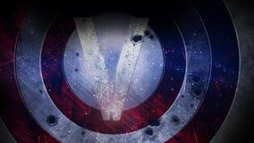 Grunge background. Abstract illustration. Victory. Abstract tech grunge background. Victory Stock Images