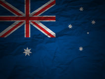 Grunge background Australia fl Stock Photo