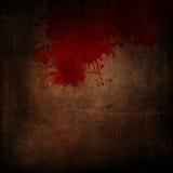 Grunge background with blood splatters royalty free illustration