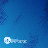 Grunge background-14. Blue abstract grunge background. Monochrome texture. Design element for banners or flyers vector illustration