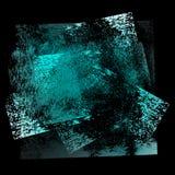 Grunge background 02 blue-black 02 Royalty Free Stock Photos