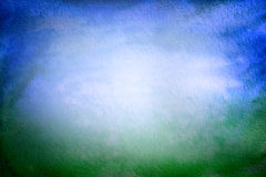 Grunge background, blue and green Royalty Free Stock Images