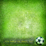Grunge background - Brazil 2014. Space for text Royalty Free Stock Photos