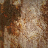 Grunge Background with Brown Marks Stock Photo