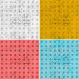 Grunge background with circles Stock Image