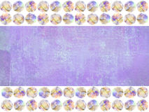Grunge background among the colored watercolor spots. Stock Photography