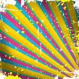 Background with colorful stripes. Grunge background with colorful stripes Vector Illustration