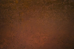 Grunge background from copper Stock Photo