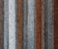 Grunge Background from Corrugated Metal Royalty Free Stock Photos
