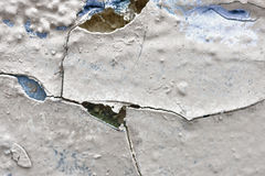 Grunge Background Of A Crumbled Wall Royalty Free Stock Photos