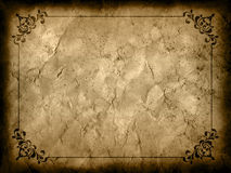 Grunge background with decorative border Royalty Free Stock Images
