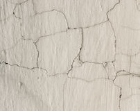 Grunge Background with Dirty White Lime Plaster Royalty Free Stock Images