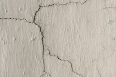 Grunge Background with Dirty White Lime Plaster Stock Image