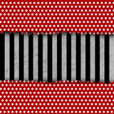 Grunge background with dots. Stripes and folds stock illustration