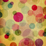 Grunge background with dots Royalty Free Stock Photos
