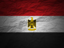 Grunge background Egypt flag Stock Photo