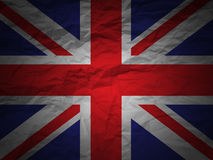 Grunge background England flag Royalty Free Stock Photos