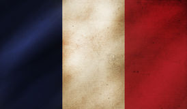 Grunge background with flag of France. royalty free stock photos