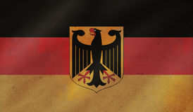 Grunge background with flag of Germany. royalty free stock photo