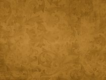 Grunge background with floral pattern Stock Photos