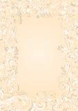 Grunge background frame. Decorative template grunge background, illustration Royalty Free Stock Images