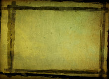 Grunge background frame. Highly Detailed grunge background frame with space Royalty Free Stock Image