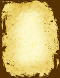 Grunge background / frame. Old / aged paper. digitally generated grunge border /frame Royalty Free Stock Photography
