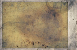 Grunge Background Frame. A grunge background taken from an old photograph Royalty Free Stock Photo