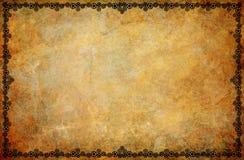 Steampunk Border Grunge Background Stock Photos