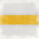 Grunge background. Grungy background yellow ribbon on a light background Royalty Free Stock Photos