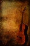 Grunge background guitar Stock Photo