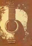 Grunge background guitar Royalty Free Stock Images