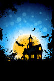 Grunge Background for Halloween Party Stock Image