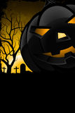 Grunge Background for Halloween Party Royalty Free Stock Photography