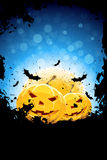 Grunge Background for Halloween Party Royalty Free Stock Photos