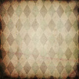 Grunge background with harlequin pattern Royalty Free Stock Photo