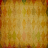 Grunge background with harlequin pattern Royalty Free Stock Image