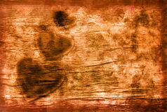 Grunge Background With Heart Royalty Free Stock Images