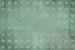 Grunge background with heart texture for greeting cards Stock Images